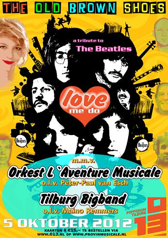 LAventureMusicale_Poster 2012_Beatlesmania