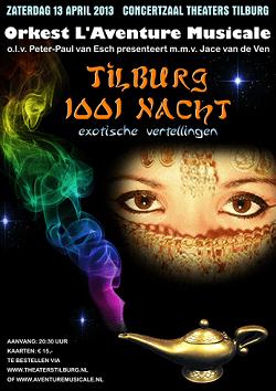 LAventureMusicale_Poster 2013_Tilburg1001nacht